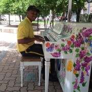 The Downtown Community Improvement District (CID) Ambassadors are planning to set the tone for the Pianos on Parade by playing the public pianos in Oppenstein Park (12th & Walnut), beginning June 1.