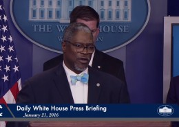 Kansas City Mayor Sly James at the White House