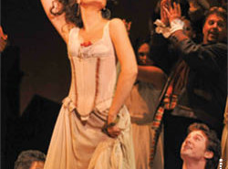 The Lyric Opera is dazzling audiences with 'Carmen' which is now showing at the Kauffman Center.